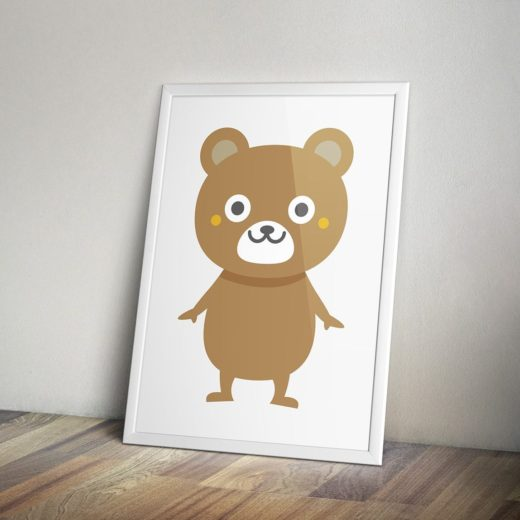 熊野屋質店クマさんキャラクター